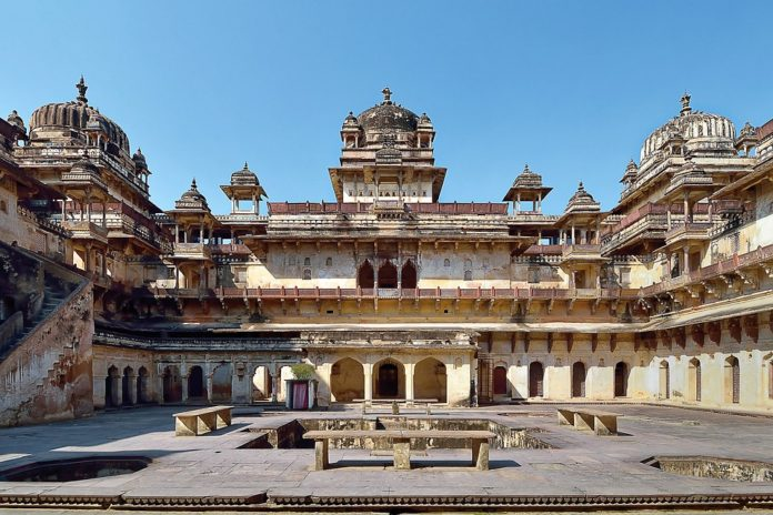 Tourist places of orchha